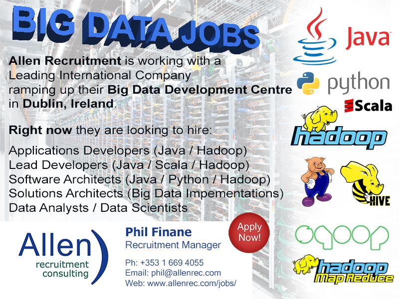 Big Data Jobs - Dublin - Allen Recruitment - Apply Now